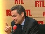 """Nicolas Sarkozy, candidat UMP à la Présidentielle, vendredi sur RTL : """"J'ai eu du plaisir à débattre avec François Hollande"""""""