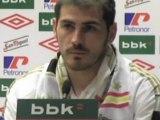"""Deportes / Fútbol; Real Madrid, Casillas: """"No ha sido fácil conquistar la Liga BBVA"""""""