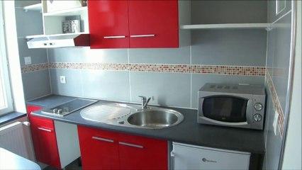 location appartement type Studio meublé dans résidence à Montlucon.