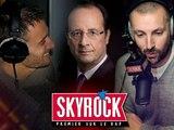 Fran�ois Hollande en direct sur Skyrock !
