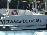 Inauguration du bateau de la Province Liège 1 et Liège 2
