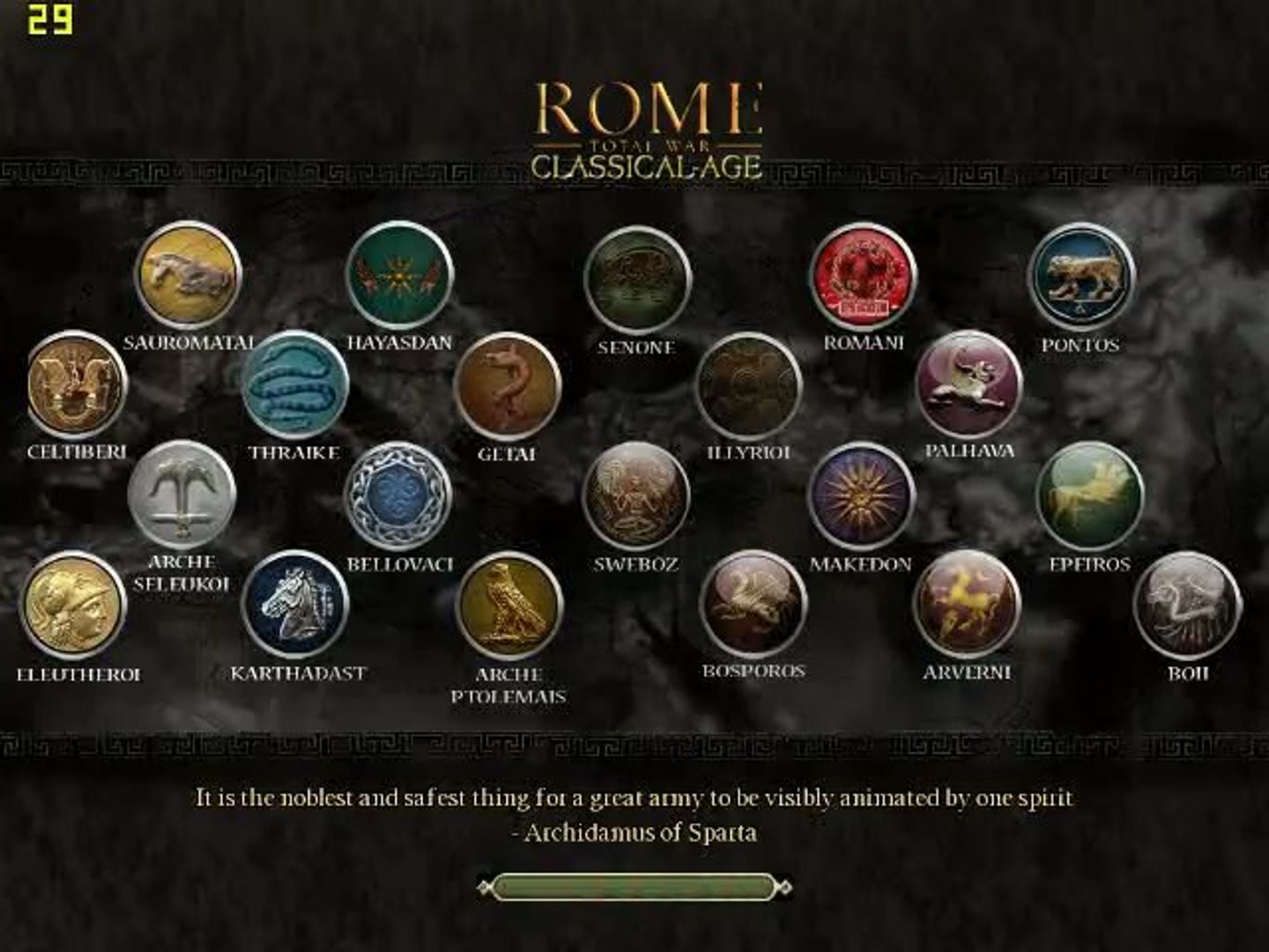 Classical-Age Total War Online Battle 3- CATW / Rome Total War mod