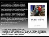 FRANCESCO TADINI - legge Francesco Tadini un testo di Parmiggiani, video Spazio Tadini Arte di Milano