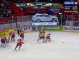 Hockey. 2012.05.04. IIHF World Championship 2012. Gpoup S. Sweden - Norway. 2-nd period. Швеция - Норвегия