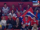 Hockey. 2012.05.04. IIHF World Championship 2012. Gpoup S. Sweden - Norway. 3-rd period. Швеция - Норвегия