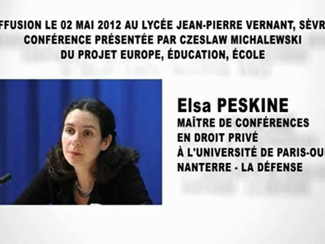 L'accès à l'emploi, Elsa PESKINE