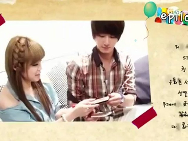 "Trailer #2 Hyosung and Jung Il Woo Fanfic ""One More Time for Love"""