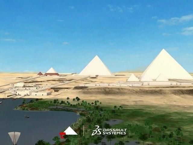 L'égyptologie virtuelle : l'expérience de Giza 3D