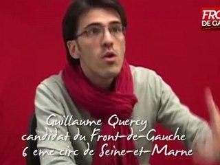 Entretien avec Guillaume Quercy (Front-de-Gauche)