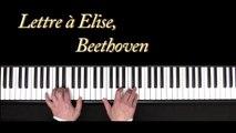 Lettre à Elise - Piano - Beethoven - Für Elise