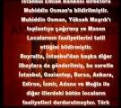 Türkiye'de Ve Dünyada Masonluk 15. Bölüm