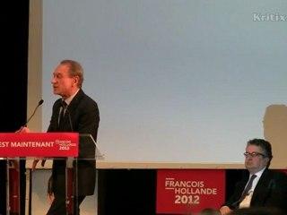 Unionisme : Hollande entre deux maires
