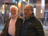 Edward James Olmos laughs at an odd question