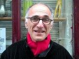 François, militant socialiste du 18e arrondissement, après la victoire de François Hollande