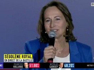 """Ségolène Royal : """"Cette Victoire c'est la votre !"""""""
