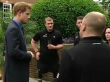 """Prince Harry Meets With Wounded Veteran """"Warrior Games"""" Athletes"""
