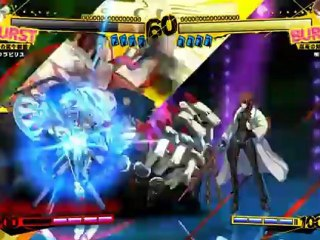 Shadow Labyrs Gameplay de Persona 4 Arena