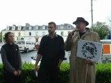 Chaine humaine pour la Réunification-Intervention de Jean-François Le Bihan, président de Bretagne Réunie