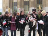 Rassemblement de soutien pour les activistes de Green Hill et pour la fermeture de Green Hill Rassemblement de soutien pour les activistes de Green Hill et pour la fermeture de Green Hill (08.05.2012)