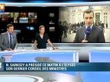 Dernier Conseil des ministres du quinquennat de Nicolas Sarkozy