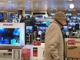 Regno Unito: crollo delle vendite al dettaglio