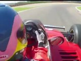 Jacques Villeneuve Driving Gilles Villeneuves 1979 Ferrari F1 Car (30th anniversary)