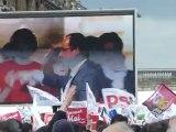 Hollande, 15 avril 2012, Vincennes