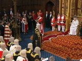 Queen Elizabeth Arrives At Parliament For Opening Of New Session, Introduces Plans to Cut UK Deficit