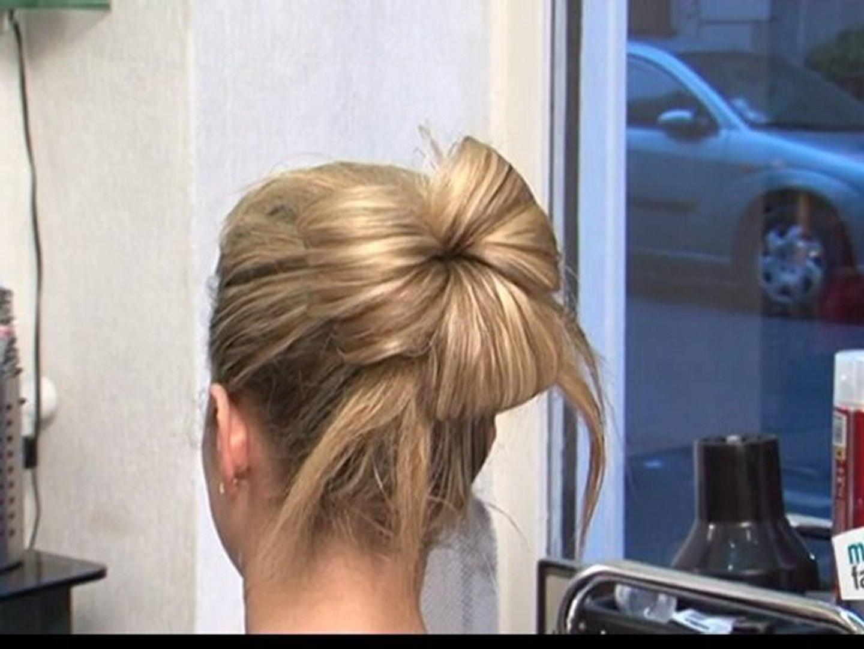 Tuto Coiffure Le Chignon Cheveux Longs Video Dailymotion