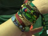 Faire un bracelet en tissu, bijoux fantaisie