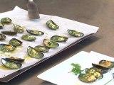 Cuisine : Recette de moules farcies au beurre d'escargot