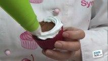 Cupcakes : glaçage à la poche à douille