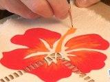 Sports Loisirs : Faire un set de table à décoration tropicale