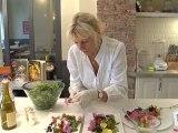 Cuisine : Recette salade de mesclun aux fleurs comestibles