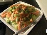 Cuisine : Recette de salade de crevettes aux deux melons