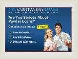Fast Cash Loans | Cash Advance Loans | Quick Cash Loans