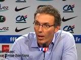 Laurent Blanc évoque Hatem Ben Arfa