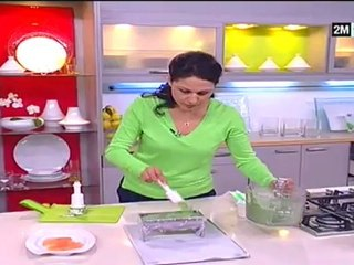 Choumicha - Choumicha Terrine Saumon aux épinards