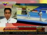 (VÍDEO) Silvio Fernández: Esgrima venezolana es la tercera fuerza deportiva para Londres 2012 08.05.2012