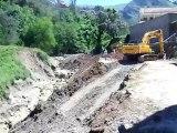 Coulées de boue à Illilten