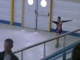 Demi-finale championnat de france patinage artistique 2012 à Gujan-Mestras: ANISSA ET JEREMY
