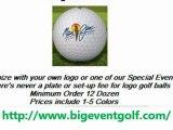 Gift Golf Balls l Event golfballs l logo golfballs l Personalized Golf Balls