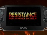 Resistance: Burning Skies - PS Vita Features