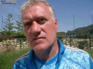 """D.Deschamps:"""" c'est notre dernier match au vélodrome, et la reprise c'est le 2 juillet""""!!!!"""