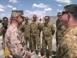 Al Jazeera talks to ISAF chief in Afghanistan