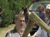Olympisches Feuer: Eine Reise von Olympia nach London