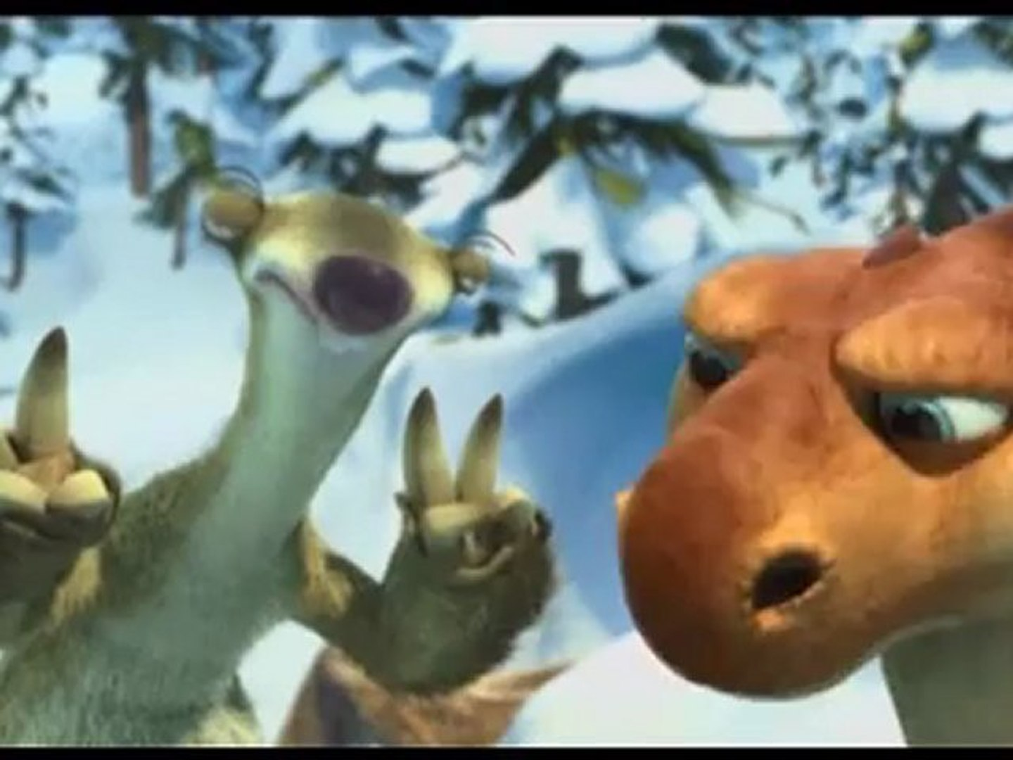 Ice Age Dawn Of The Dinosaurs 3d Trailer Video Dailymotion