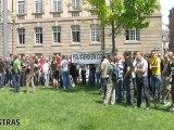 Affaire Noisy le Sec : manifestation de la police nationale à Strasbourg