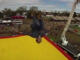 """Le """"Bag-jump"""" : un saut de 30 mètres dans le vide"""