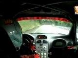 Cámara interior J.J.Abia (Peugeot 206 WRC) Subida a Santo Emiliano 2011